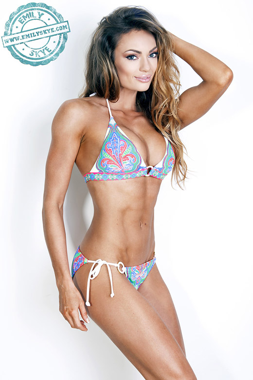 An Interview with international fitness model Emily Skye